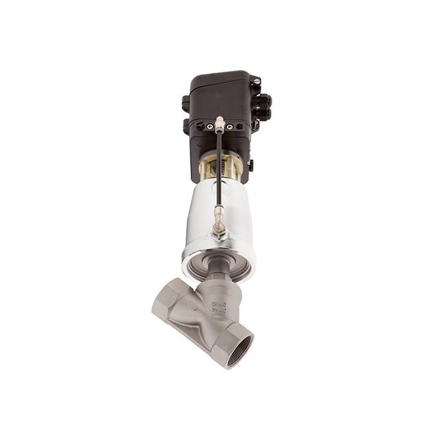 Тарельчатый клапан с наклонным шпинделем 7020