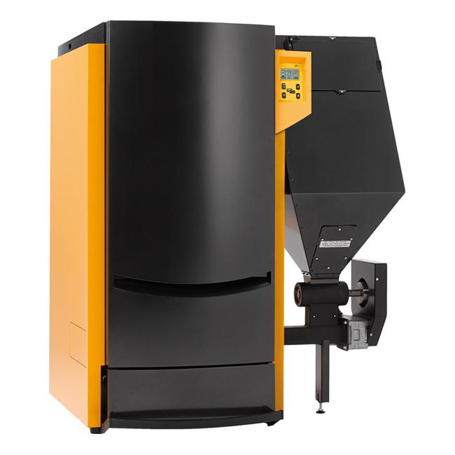 Hybrid pellet boiler PNA